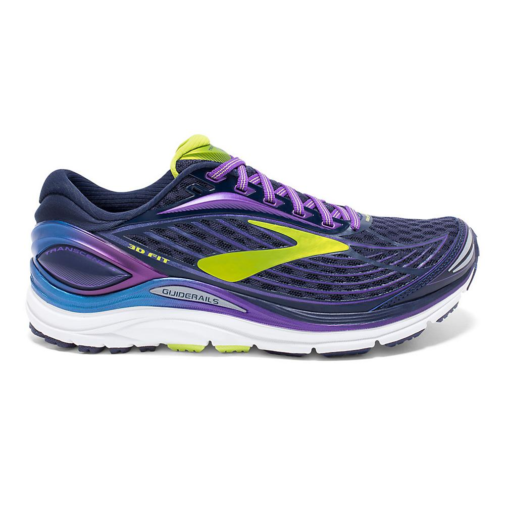 Mens Brooks Transcend 4 Medium Running Jogging Fitness Trainers Shoes Size 6 6.5