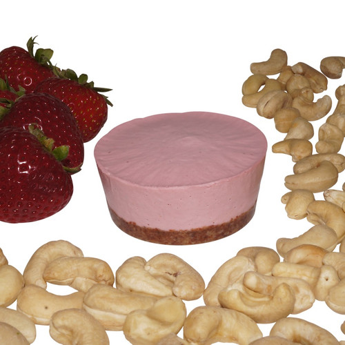 """Strawberry Vegan """"Cheese""""cake (Personal Size, pack of 6)"""