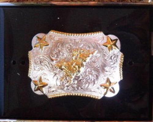 Nocona Kid's G/S Bull Rider Belt Buckle