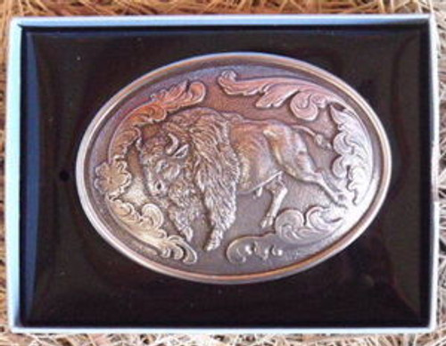 Nocona Buffalo Western Belt Buckle