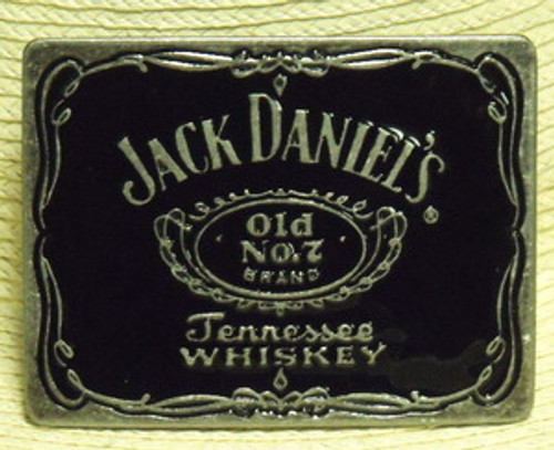 Jack Daniel's Old No.7 Label belt Buckle