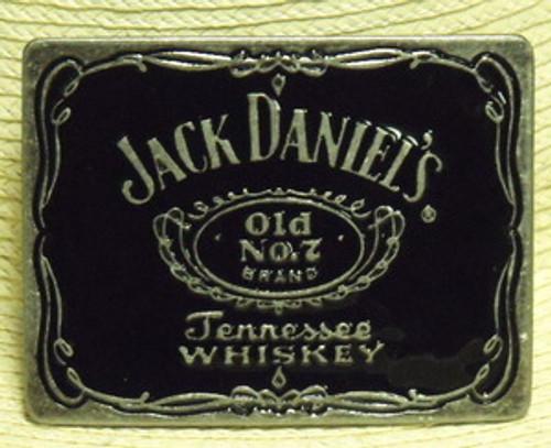 Jack Daniel's Old No.7 Label belt Buckle