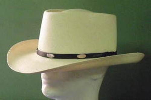 Stetson Royal Flush Shantung Gambler Western Hat