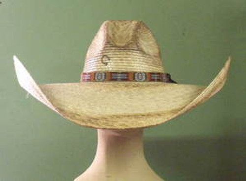 Charlie 1 Horse Coyote Palm Western Sun Hat
