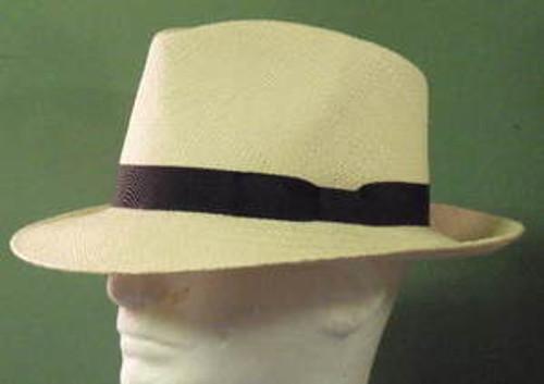 Stetson Retro Genuine Panama Straw Fedora Hat
