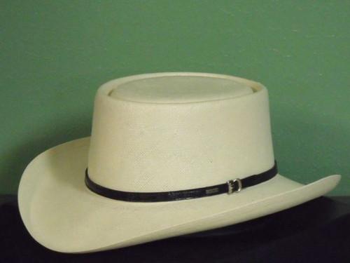 Resistol Gambler 10X Shantung Panama Western Hat