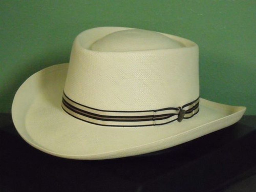 Dobbs Kingston Shantung Panama Fedora Hat