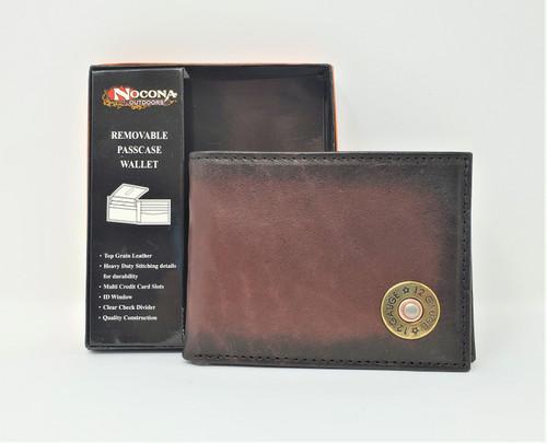 Nocona 12 Gauge Bi-Fold Wallet With Passcase
