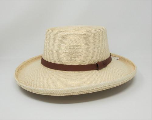 SunBody Guatemalan Palm Gambler Hat