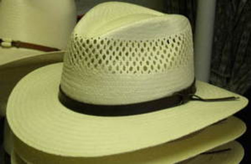 Stetson Digger Vented Shantung Straw Hat