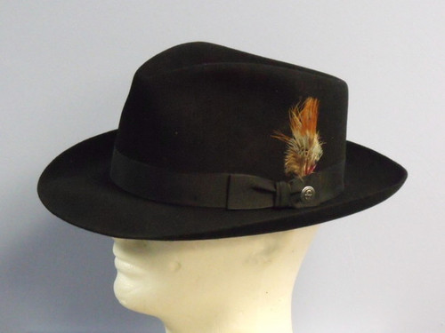 Stetson Downs Royal Fur Fedora Hat