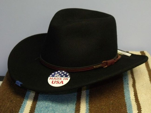 Stetson Bozeman Crushable Wool Western Hat