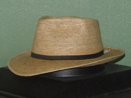SunBody Oak Guatemalan Palm Fedora Hat