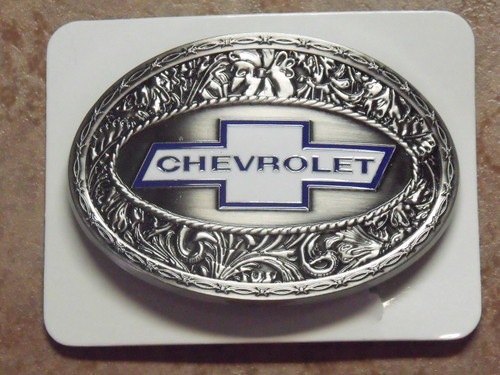 Chevrolet Stainless Steel Belt Buckle