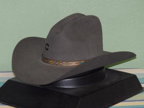 Charlie 1 Horse Run Away Grey Cowboy Hat