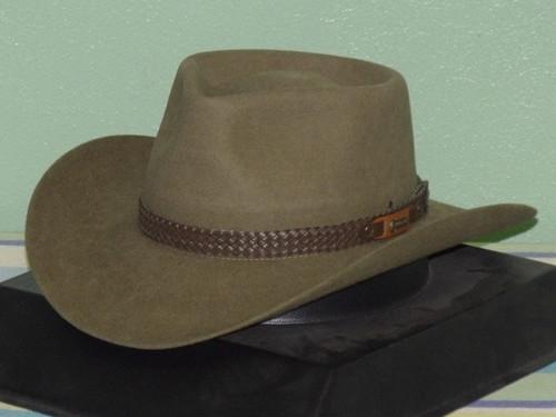Akubra Snowy River  Fur Stockmans Hat