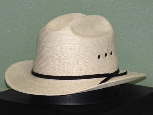 SunBody Palm Open Road Western Hat