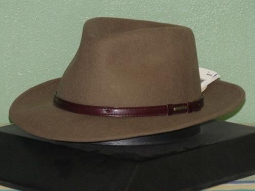 Stetson Cruiser Crushable Wool Fedora Hat