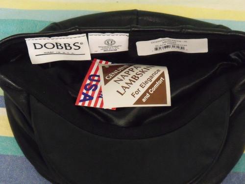 Dobbs Princeton Lambskin Flat Cap