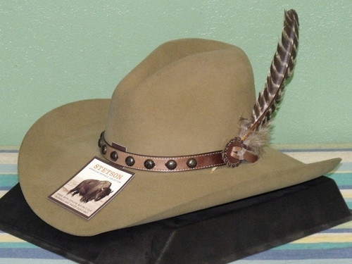 Stetson Broken Bow Buffalo Wool Cowboy Hat