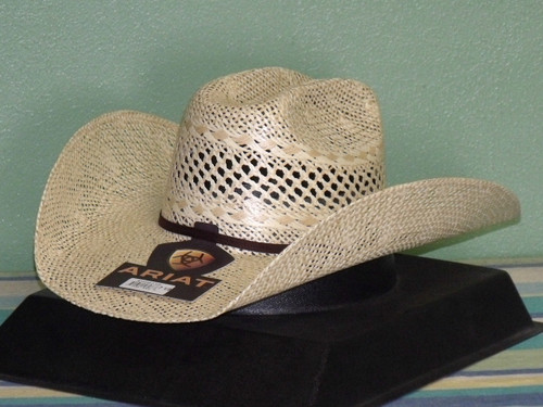 Ariat  A73150 Twisted Weave Straw Cowboy Hat