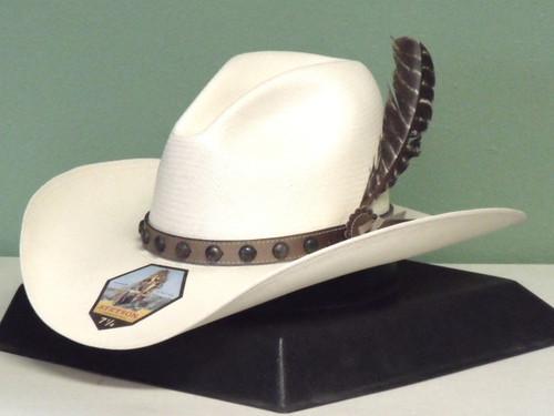 Stetson Broken Bow Shantung Straw Cowboy Hat