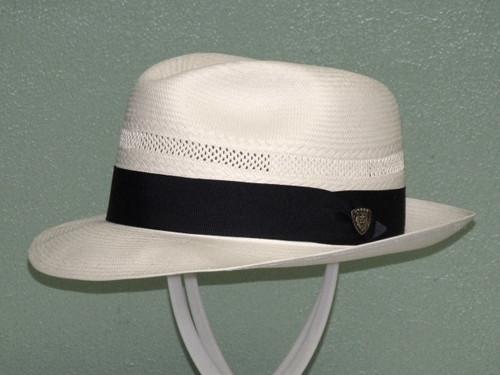 Dobbs Vented Center Dent Shantung Fedora Hat