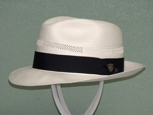 Dobbs Vented Center Dent Shantung Fedora Hat