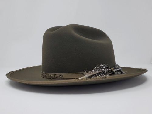 Stetson 1865 Distressed Open Road Western Hat