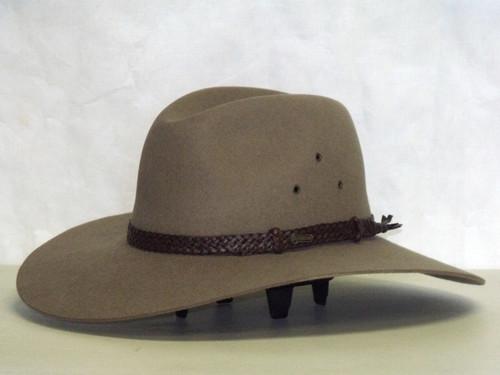 Akubra Riverina Fur Felt Outback Western Hat