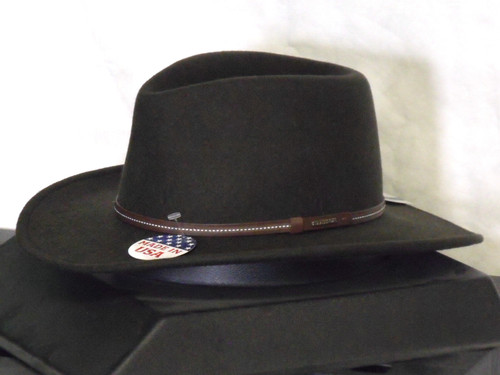 Stetson Gallatin Crushable Wool Western Hat