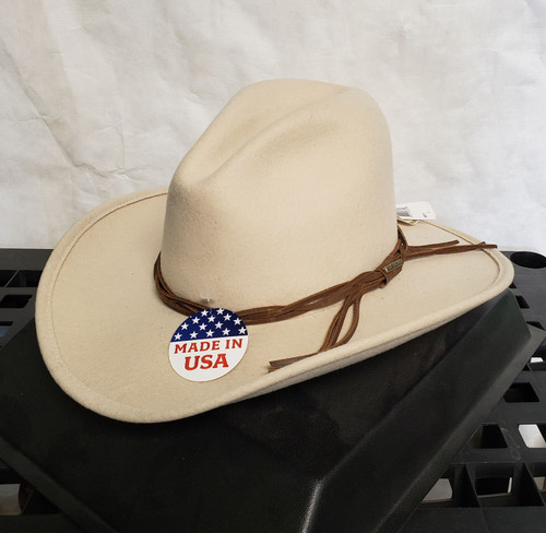 Stetson Gus Crushable 100% Wool Western Hat
