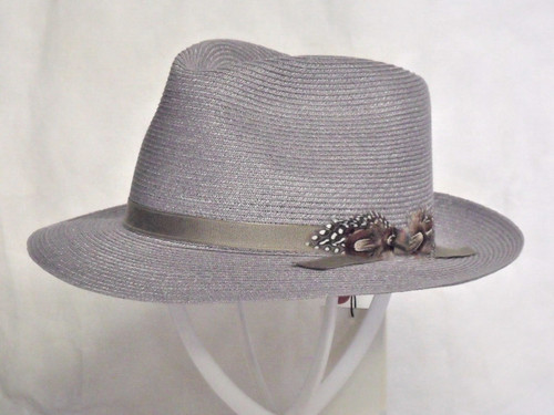 Biltmore Aviator Genuine Hemp Fedora Hat