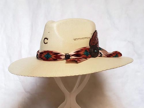 Charlie 1 Horse Navajo Straw Western Hat