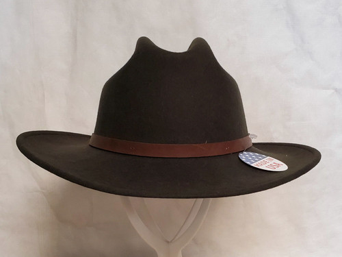 Stetson Route 66 Crushable Wool Western Hat