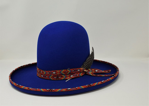 Stetson Lost City Open Crown Fedora