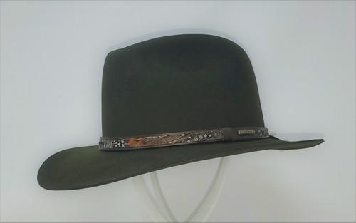 Stetson Jackson Fur/Wool Blend Fedora Hat