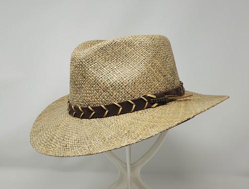 Stetson Alder Seagrass Straw Outback Hat