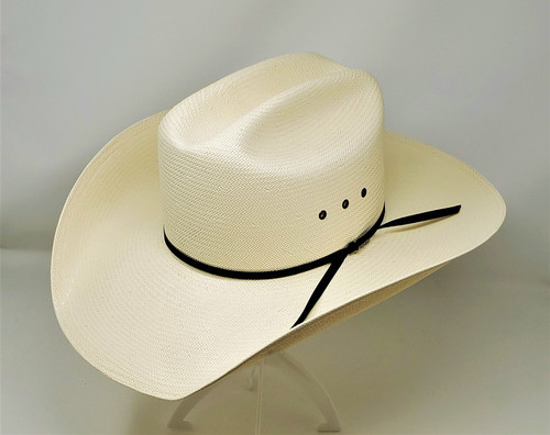 Resistol All Around Straw Shovel Brim Cowboy Hat