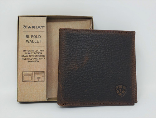 Ariat Large Bi-fold Leather Wallet