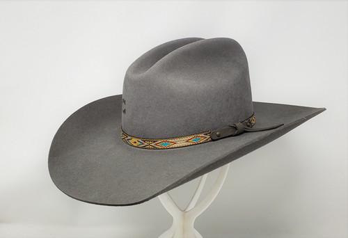 Run Away Grey Shovel Brim Cowboy Hat
