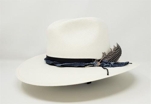 Stetson  Gage Genuine Panama Straw Fedora Hat