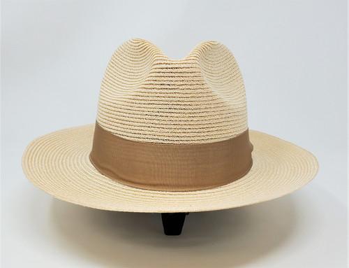 Dobb's Rosebud Hemp Straw Fedora Hat
