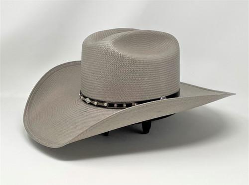 Stetson Kenton Grey Straw Cowboy Western Hat