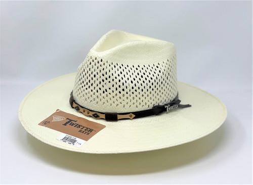 Twister T71202 Pinch Front Cowboy Western Hat