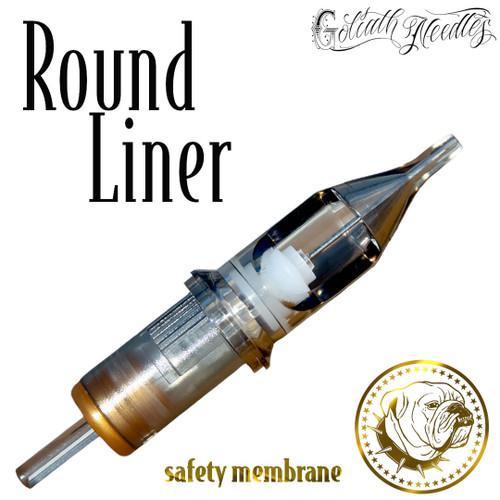 Round Liner Gold