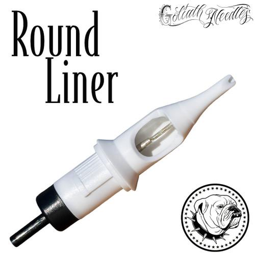 Round Liner White