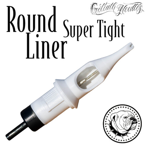 Round Liner Super Tight White