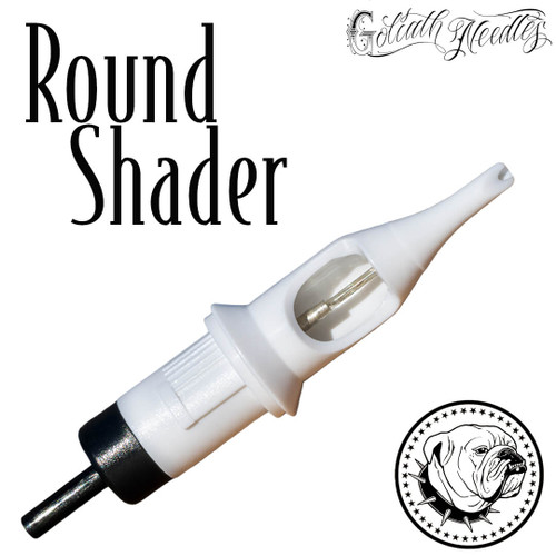 Round Shader White