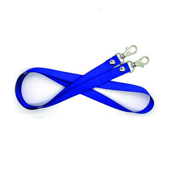 Fabric Lanyard 1.5cm width, fine thread, with scale hook (LY1501)